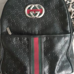 Unisex gucci bookbag